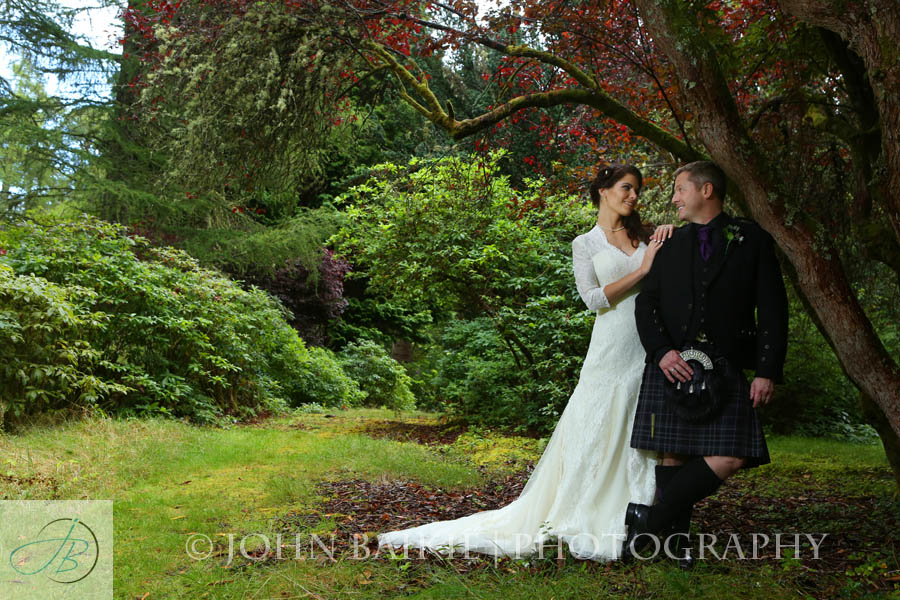 Aldourie Castle Wedding Photography – Amber and Niall
