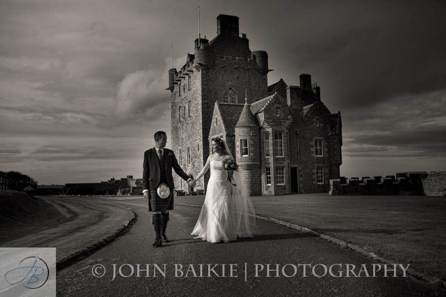 Ackergill Tower Wedding Photography – Karen and Craig