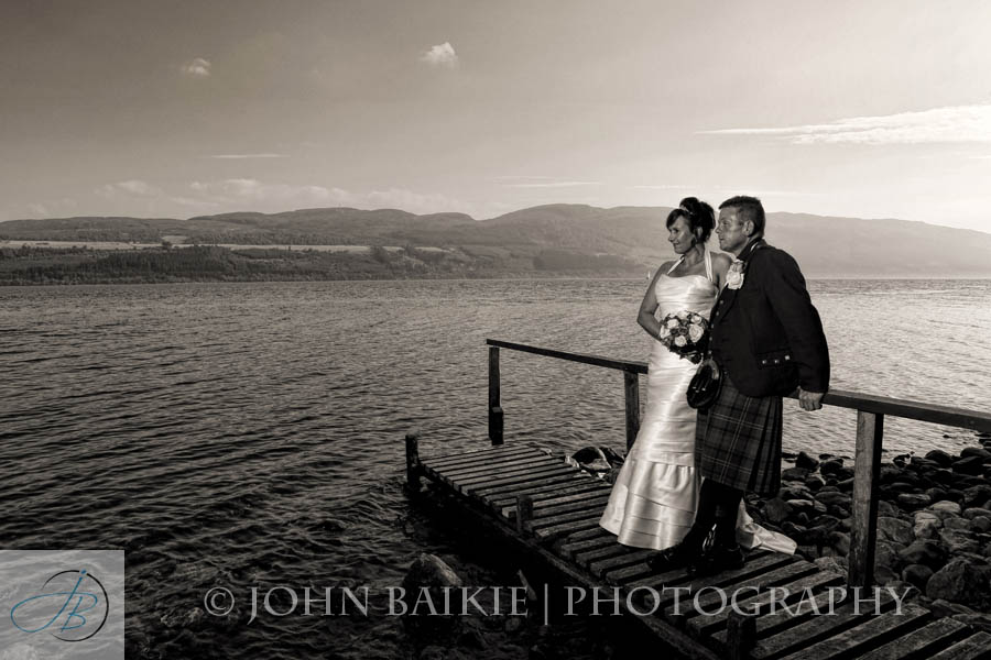 Loch Ness Country House Wedding Photography – Caroline and Derek