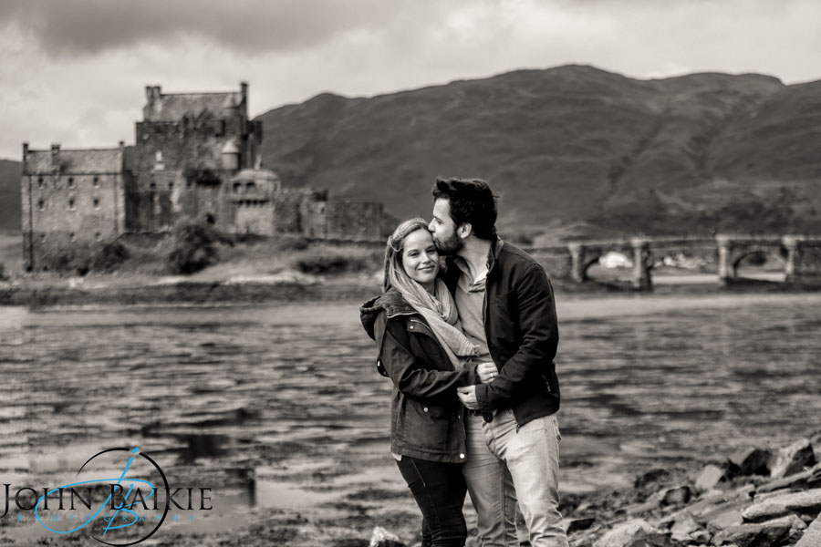 Engagement Photography Eilean Donan Castle
