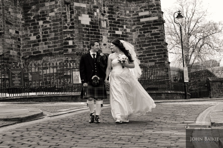 Wedding Photography Stirling – Magdalena & Sean