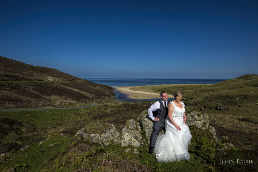 Annabel and Johnny – Wedding Stornoway