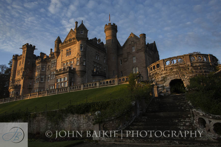 The Beautiful Skibo Castle Was Venue For Wedding Of Louise And Yves Had Travelled Over From Switzerland Special Day